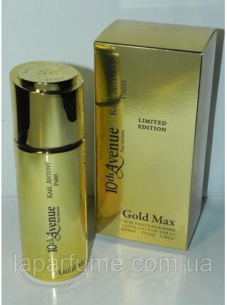 10th Avenue Gold Max Pour Homme