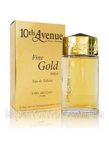 10th Avenue Fine Gold Pour Homme