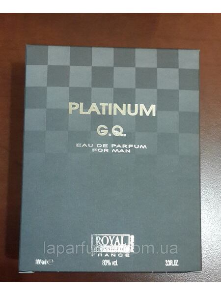 Platinum G.Q. Royal Cosmetic 100ml