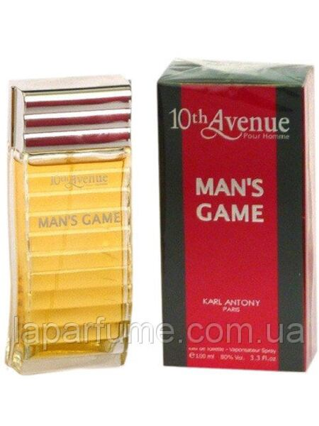 10th Avenue Mans Game Pour Homme